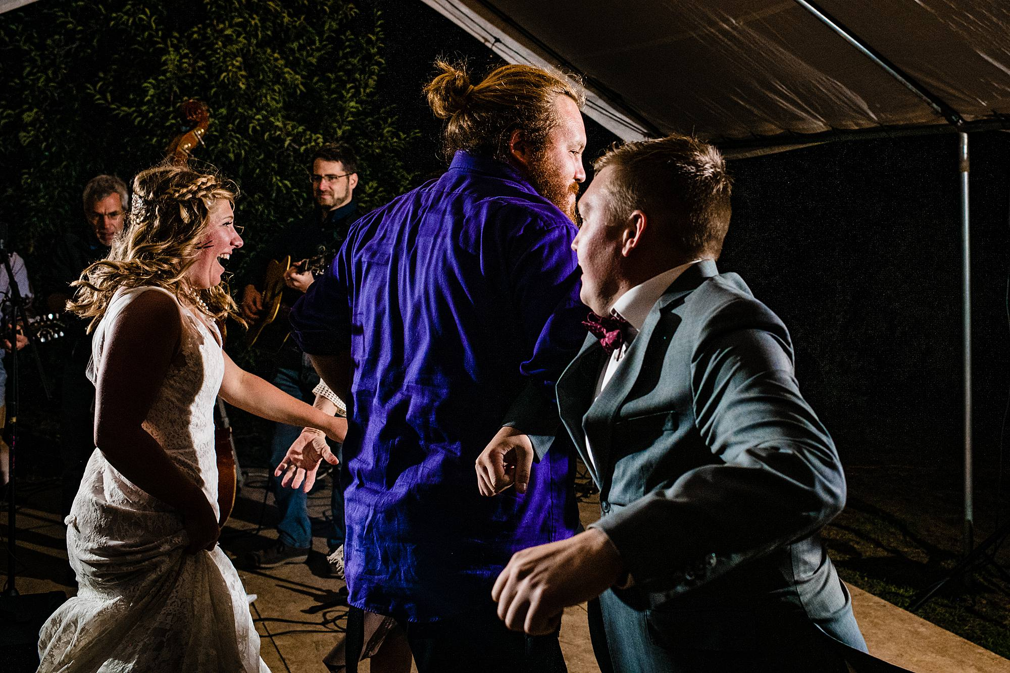 dancing to who hit john - west michigan wedding photographer